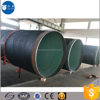Construction materials oil and gas pipeline 3pe steel pipe for Mongolia underground oil supply