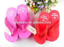 Eco- ambiente venta al por mayor nueva desgin las mujeres de alta- de tacón sandalias zapatillas