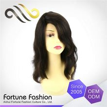 Oem Professional Factory Supply Human Hair Wig 200 Density 36 3/4 Piece