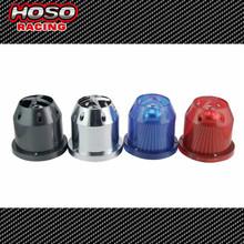 "3.0"" Inlet 3.5"" Top 6"" Base 5.5"" Tall Universal Bullet Car Air Filter high flow intake automobile air filter Cold Air Intake"