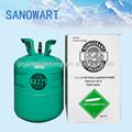 Refrigerante 13.6kg r134a del cilindro de gas refrigerante r134a de aceite