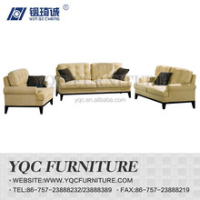 Y1119# hot sale chinese style traditional design simple fabric arm sofa