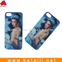 IMD Hard PC Back Cover For Iphone 5 Beauty design
