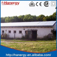 Hanergy 3kw solar energy equipment competitive price per watt solar panels in india