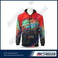 sublimation slim fit hoodie