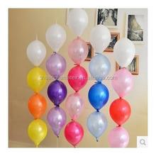 2015 new manufacturer direct sales latex tail ballon/ latex blloon