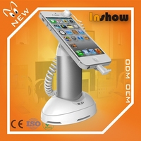 Cell phone retail display alarm stands mobile phones and accessories