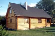 Hand Crafted Scandinavian Log Home