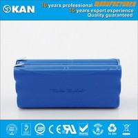 KAN nimh 14.4V 12xaa1600mAh rechargeable battery pack for robotic vacuum cleaner