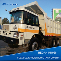 YUTONG Max 40 Ton Right Rudder off road type Mining Tipper Truck