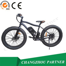 26 Inch Wheels Bush Beach Fat Tire Mountain Electric Bike Kit of Highest Equipment (PNT-EB-01)