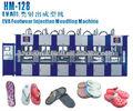 maquina para producir sandalia EVA de marca Crocs