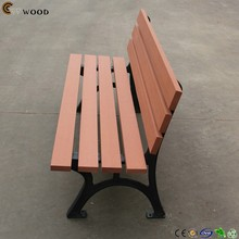recycled wood furnitures park bench