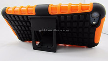 TPU + PC super stand combo phone case For iPod touch 5