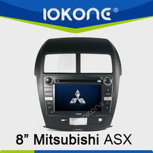 In dash 2din touch screen Car multimedia entertainment system radio DVD player GPS navigation for Mitsubishi ASX