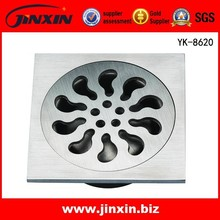 Gold Supplier for Stainless Steel Square Small Bathroom/ Balcony/ Kitchen Floor Drain
