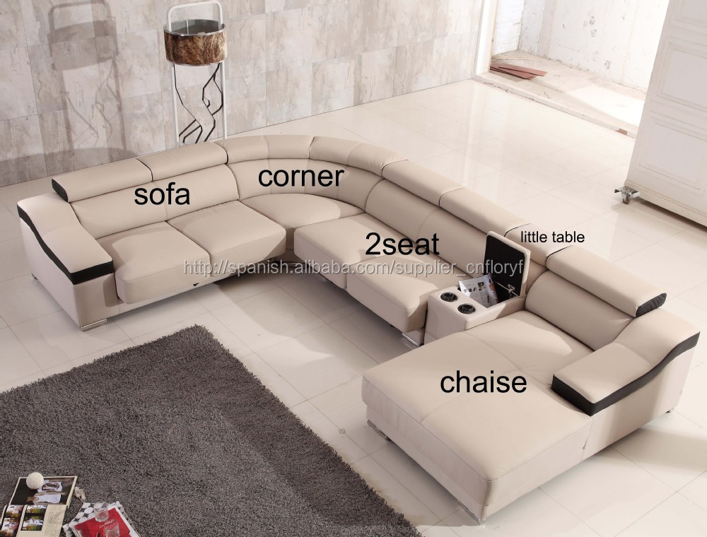 Lujoso Chaise Para Los Muebles De La Sala De Estar Adorno - Muebles ...