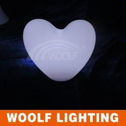 remote controller led heart-shape Decorative lights remote controller
