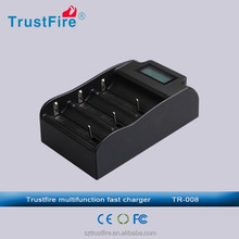 Trustfire TR-008 good quality battery new model big promotion charger for 27650 26550 25500 18650 battery