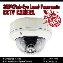"""2014 update model!!! 4"""" Steel Vandalproof 30M IR Dome CCTV Camera (700TVL, 600TVL, 420TVL)"""