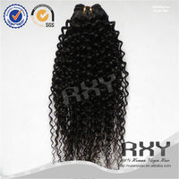 22 22 22inch 100 percent brazilian jerry curl micro ring virgin hair extensions