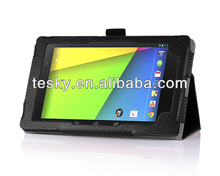FOLIO WALLET COVER CASE FOR ASUS NEXUS 7 II MADE IN CHINA