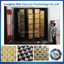 China manufacturer ceramic cup/ plates/ tiles vacuum coating equipment/ceramic bathroom tiles vacuum metallizing machine