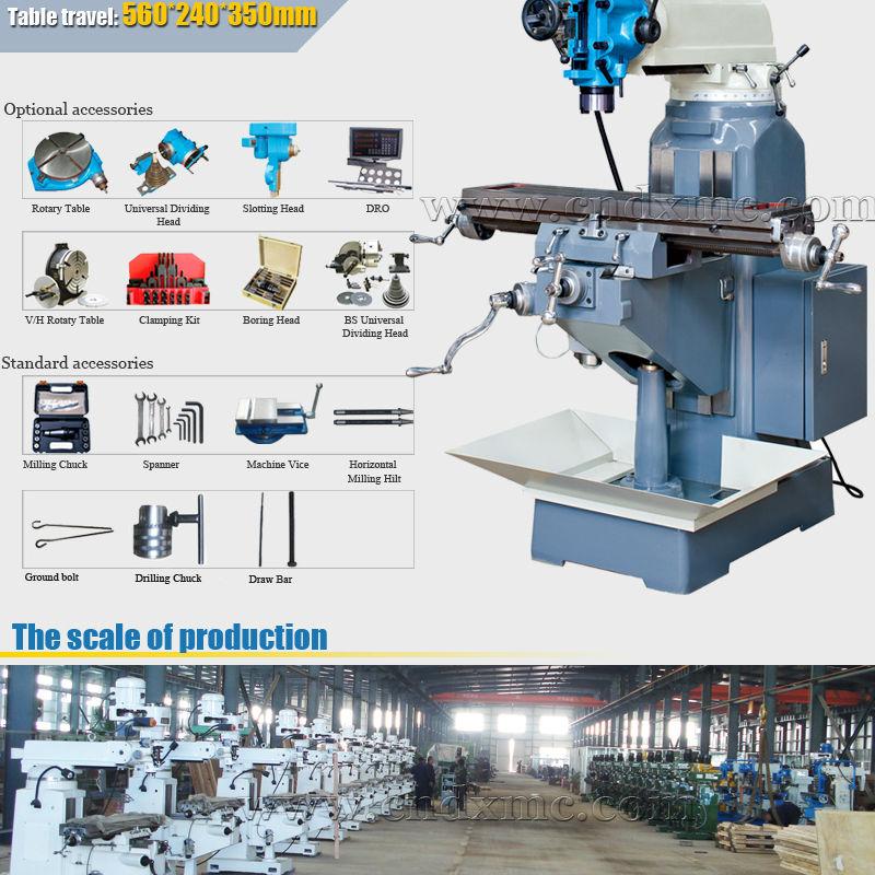 수직 터렛 밀링 머신 소형 밀링 머신 수직 밀링 머신 dm100-축융기 ...