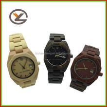 different color choose digital wood watch ladies wood watch