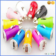 hot sale Colorful car usb charger 5V 1A wholesale for cell phone charger