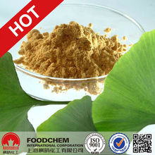 Raw Material Ginkgo Biloba Leaf Extract Powder