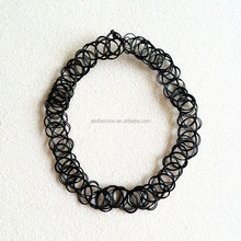 Cute Girl Vintage Stretch Tattoo Choker Necklace
