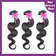 unprocessed brazilian virgin human hair extension 100% indian human hai