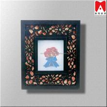 Hot Sale MDF - 3011 Custom Framing Gallery Frame Purple Wall Art