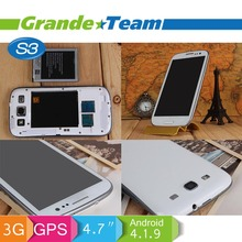 "Hot Selling mtk6577 Dual Core 1.4GHz 960*540 4.7"" screen 8.0MP back Camera china mobile"