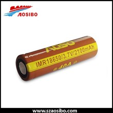Aosibo IMR 18650 2100mAh 40A for High Drain Electronic Devices like APVs, PVs, MODS Battery