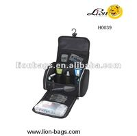hot sale promotional foldable Cosmetic Case With Mesh Environmental protection