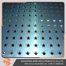 5mm thick stainless stee perforated metal sheet for decorative panels