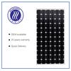 200W full certification solar panel made by 72pcs monocrystalline solar cells