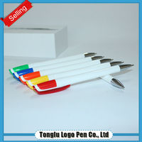 Chinese school stationery supplies custom heavy ball pen with logo