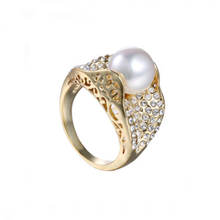 Women ring pearl ring designs make fashion jewelry rings