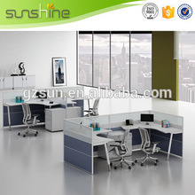Movable Soundproof Office Partition Wall, High End Cubicle Workstation, Widely Used Office Workstation Panel System