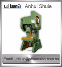 J21S 10 Tons Excentric punch press machine easy maintenance C frame Punch press equipment
