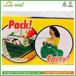 EASY pack and carry shopping cart bag