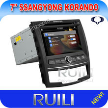Plug and Play All in one Special Car DVD for SsangYong Korando with GPS Tracker