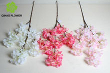 White artificial tree flower branches/Decorative dry branch wholesale