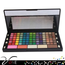 Branded cosmetics,149 color makeup palette with custom logo on sale