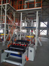 PE Rotary Die Plastic high speed Film Blowing Machine