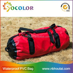 2015 Durable 60L PVC Tarpaulin Waterproof Dry Bag/dry Sack/waterproof Dry Tube Bag wih Hand Strap