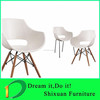 hot sale wood legs plastic outdoor leisure chair